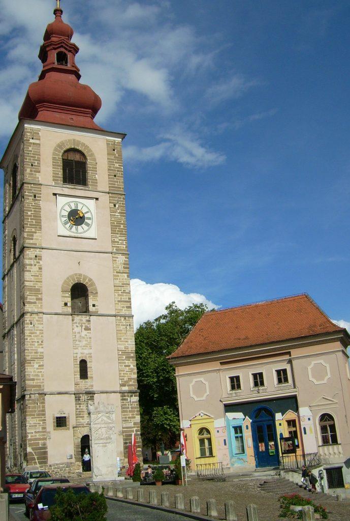 Птуй городская башня