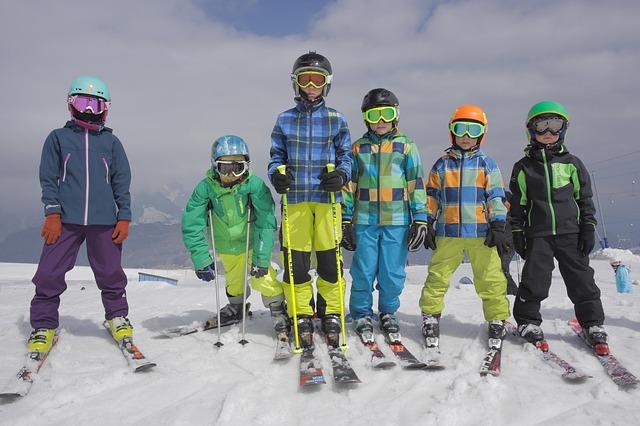 горные лыжи дети