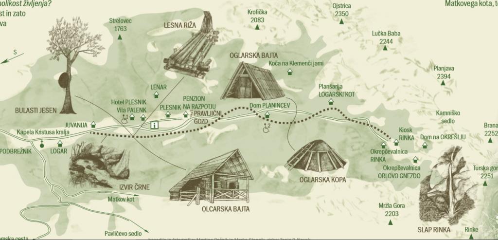 Путь по Логарской
