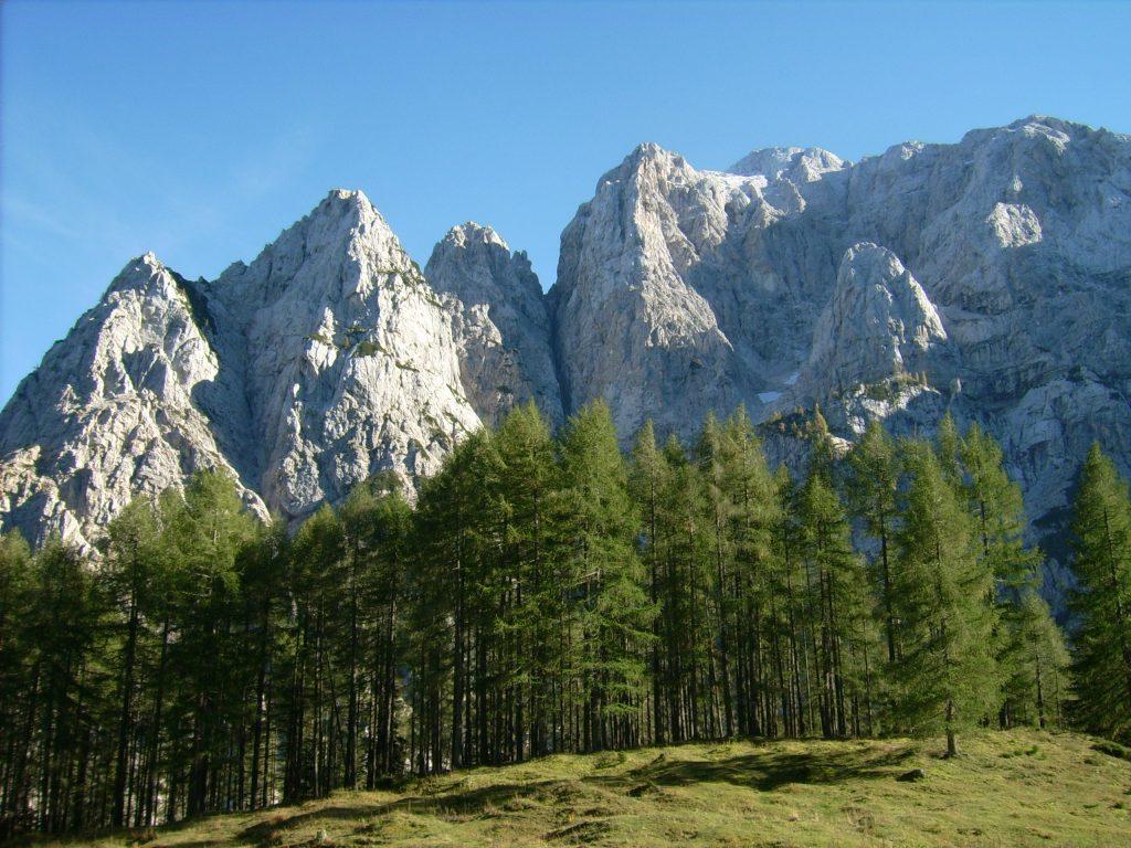 Словения горы Вршич