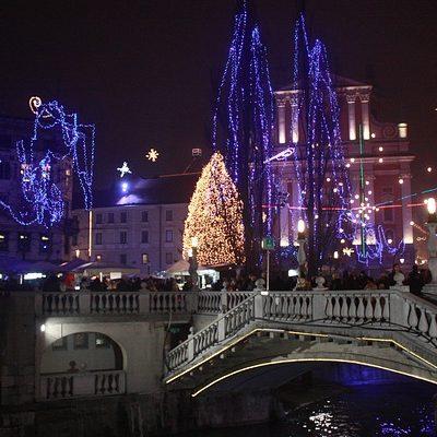 Любляна новый год