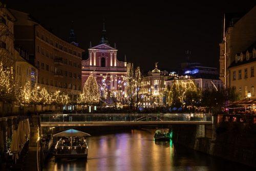 Новый год в Любляне