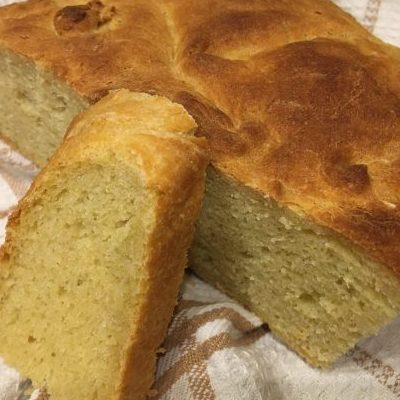 рецепт кукурузный хлеб